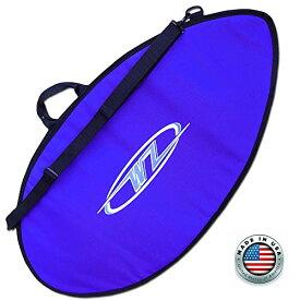 """サーフィン ボードケース バックパック マリンスポーツ 【送料無料】Wave Zone Skimboards Bag - Travel or Day Use - Padded - Black Blue or Red - 3 Sizes (Blue, X-Small - 42"""")サーフィン ボードケース バックパック マリンスポーツ"""