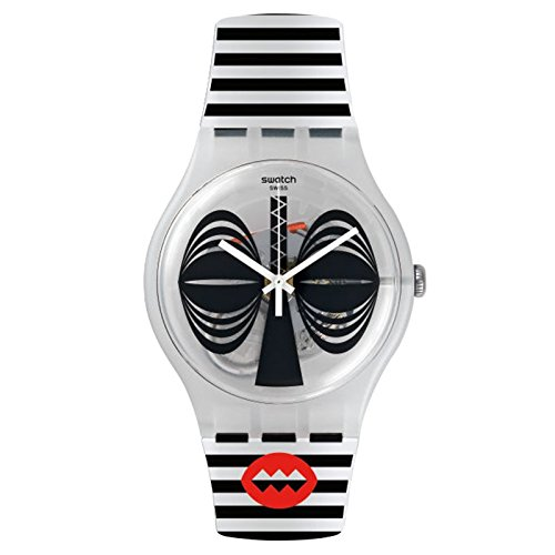 スウォッチ 腕時計 メンズ SUOW122 Swatch Men's New Gent SUOW122 Black Silicone Swiss Quartz Watchスウォッチ 腕時計 メンズ SUOW122