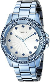 ゲス GUESS 腕時計 レディース U0702L1 GUESS Women's U0702L1 Iconic Sky Blue Classic Stainless Steel Watchゲス GUESS 腕時計 レディース U0702L1