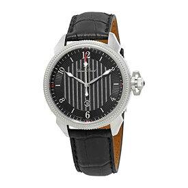 腕時計 ルシアンピカール メンズ LP-40053-01 【送料無料】Lucien Piccard Trevi Black Dial Men's Watch 40053-01腕時計 ルシアンピカール メンズ LP-40053-01
