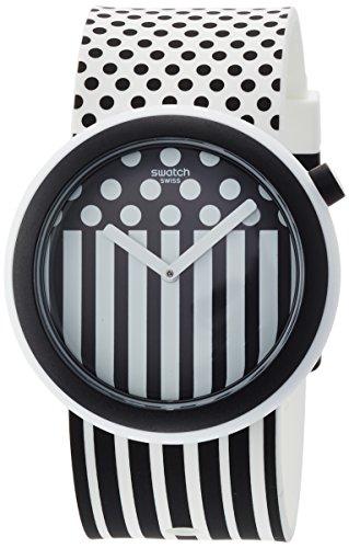 スウォッチ 腕時計 レディース PNW101 Swatch New POP Pop Dancing Two Tone Dial Silicone Strap Unisex Watch PNW101スウォッチ 腕時計 レディース PNW101
