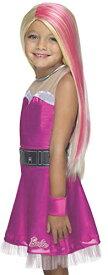 コスプレ衣装 コスチューム バービー人形 36400_NS Rubie's Costume Barbie Princess Power Super Sparkle Child Wigコスプレ衣装 コスチューム バービー人形 36400_NS