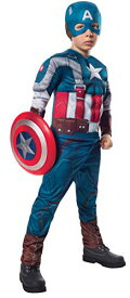コスプレ衣装 コスチューム キャプテンアメリカ 885079_M 【送料無料】Rubies Marvel Comics Captain America: The Winter Soldier Deluxe Retro Costume Uniform, Mediumコスプレ衣装 コスチューム キャプテンアメリカ 885079_M