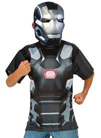 コスプレ衣装 コスチューム キャプテンアメリカ 620723_M 【送料無料】Rubie's Costume Captain America: Civil War - War Machine Child Top and Mask, Mediumコスプレ衣装 コスチューム キャプテンアメリカ 620723_M