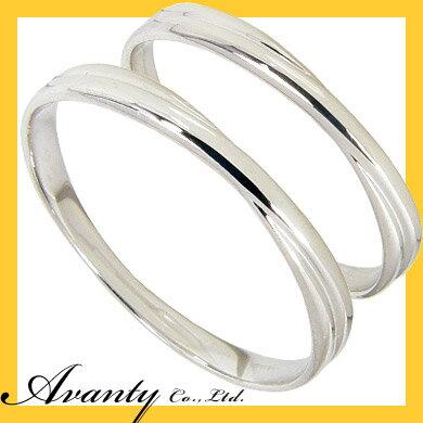【ポイント10倍】【刻印無料】マリッジリング:ペアリング:2本セット:結婚指輪/K10ホワイトゴールド:K10WG