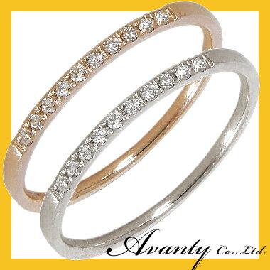ダイヤ エタニティ ダイヤモンド 10石 0.06ct エタニティリング K10 ピンクゴールド ホワイトゴールド 10金 ダイヤ リング 指輪 レディース 結婚10周年 結婚20周年 結婚 10年 20年 結婚指輪 婚約指輪 結婚記念日 プレゼント
