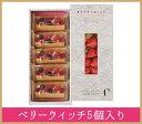 【シーキューブ-C3-】ベリーウィッチ 5個入り 3種のベリーを使った贅沢な一品 《ギフト 贈り物 プレゼント 内祝い スイーツ》