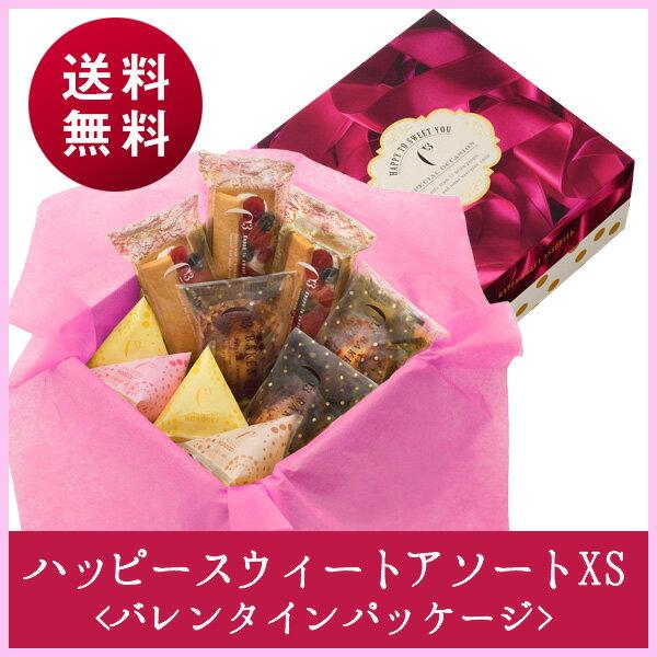 【1/31まで送料無料!】ハッピースウィートアソートXS<バレンタイン パッケージ> 【シーキューブ-C3-】《ギフト 贈り物 プレゼント 内祝い スイーツ ティラミス》
