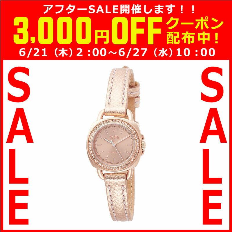 コーチ COACH クオーツ 腕時計 ブランド TATUM テイタムローズゴールド細身 ブレスレットレディース14502627