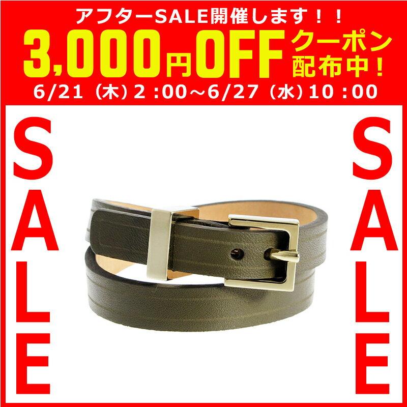 メゾンボワネ MAISON BOINET レディース ブレスレット カーキ 95010G-123TR-10GDM 120151
