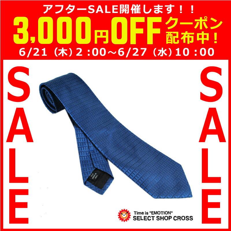 Calvin Klein カルバンクライン ネクタイ 格子柄 ブルー 9C515-5 【着後レビューを書いて1000円OFFクーポンGET】