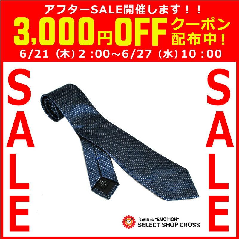 Calvin Klein カルバンクライン ネクタイ ドッド柄 ブルー M6809-3 【着後レビューを書いて1000円OFFクーポンGET】