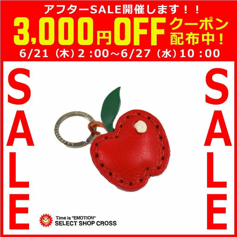 ラ・クオイエリア La Cuoieria レザー キーホルダー 革 ハンドメイド lacuoieria-7817048 リンゴ P346 【着後レビューを書いて1000円OFFクーポンGET】