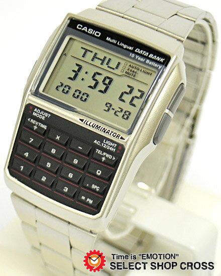 カシオ 腕時計 CASIO DATA BANK データバンク 時計 ブランド DBC32D-1ADF ブラック 黒×シルバー チプカシ チープカシオ DBC32D-1A メンズ レディース キッズ 子供 ユニセックス カシオ 腕時計