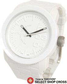 ディーゼル DIESEL メンズ 腕時計 アナログ DZ1436 ウレタンベルト ホワイト 白 【男性用腕時計 時計 リストウォッチ ランキング ブランド 防水 カラフル】 【あす楽】