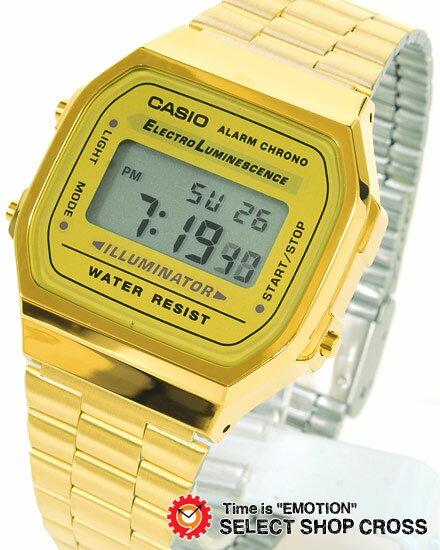 カシオ CASIO 腕時計 デジタル 腕時計 海外モデル A168WG-9WDF ゴールド チープカシオ【着後レビューを書いて1000円OFFクーポンGET】