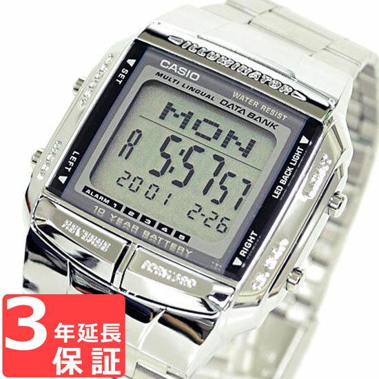 カシオ CASIO DATA BANK データバンク 腕時計 ブランド 海外モデル DB-360-1ADF シルバー チプカシ チープカシオ メンズ レディース キッズ 子供 ユニセックス