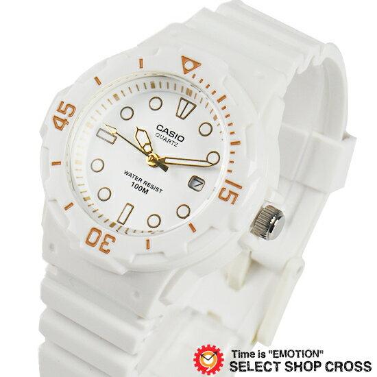 カシオ CASIO レディース キッズ 子供 メンズ 腕時計 ブランド アナログ スタンダード LRW-200H-7E2 ホワイト 海外モデル チプカシ チープカシオ 【あす楽】