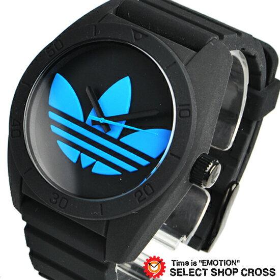 アディダス オリジナル adidas originals 腕時計 SANTIAGO サンティアゴ ブラック/ブルー ADH2877【着後レビューを書いて1000円OFFクーポンGET】