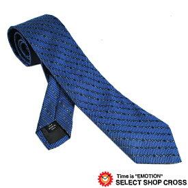Calvin Klein カルバンクライン ネクタイ ロゴストライプ柄 ブルー 9C503-2