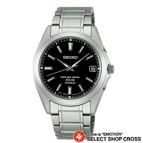 【お取寄せ】 セイコー SEIKO スピリットスマート SPIRIT SMART メンズ 腕時計 ソーラー 電波 SBTM217 ブラック/シルバー
