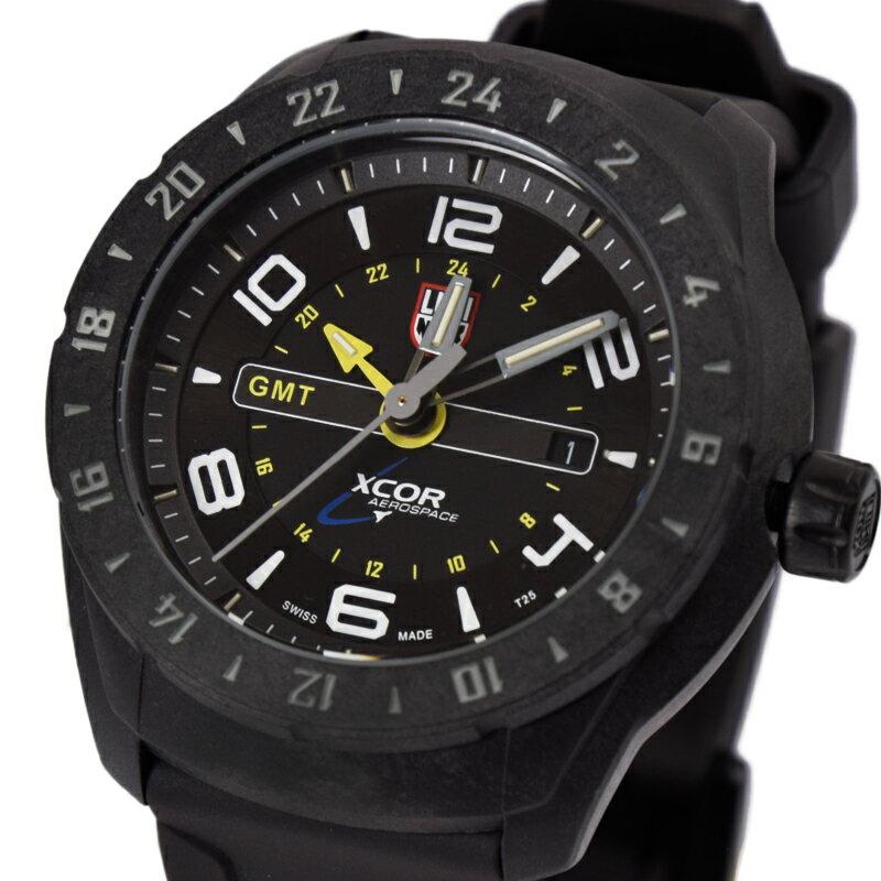 ルミノックス LUMINOX 腕時計 メンズ スペースシリーズ PCカーボン SXC PC CARBON GMT 5020 SPACE SERIES 5021 ブラック【着後レビューを書いて1000円OFFクーポンGET】