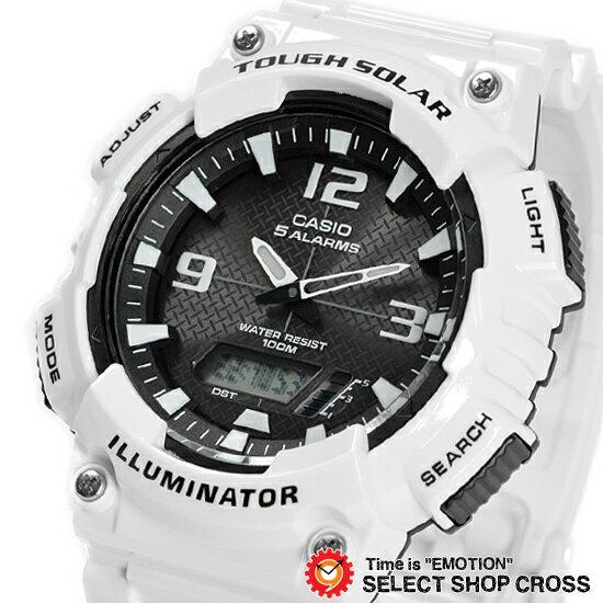 【3年保証】CASIO カシオ SPORTS スポーツ メンズ 腕時計 アナデジ タフソーラー AQ-S810WC-7A ホワイト 海外モデル チープカシオ【着後レビューを書いて1000円OFFクーポンGET】 【あす楽】