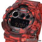 G-SHOCKCASIOカシオGショックメンズ腕時計デジタルGD-120CM-4DRレッドカモフラージュシリーズ海外モデル