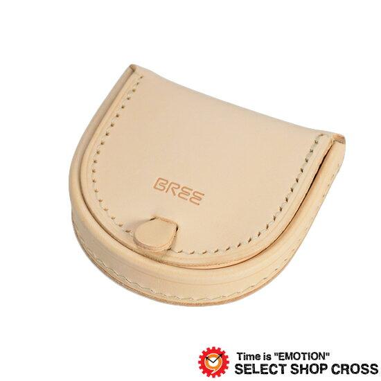 BREE ブリー 小銭入れ/コインケース ヌメ革 J10 Nature ナチュラル 181750710