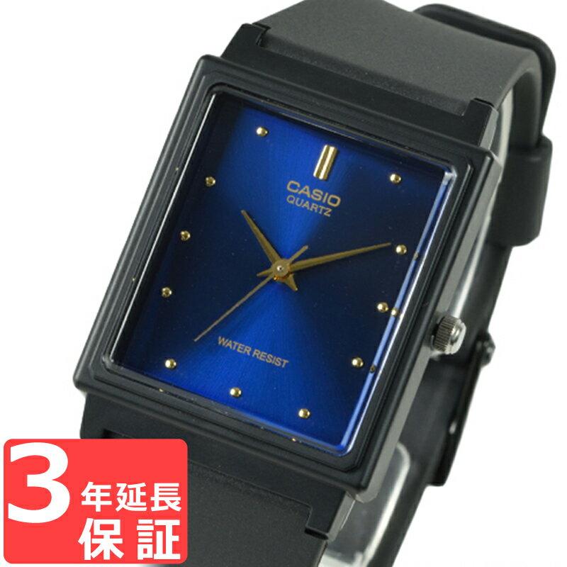 カシオ CASIO メンズ 腕時計 アナログ ベーシック ブラック×ブルー MQ-38-2A チープカシオ【着後レビューを書いて1000円OFFクーポンGET】 【あす楽】