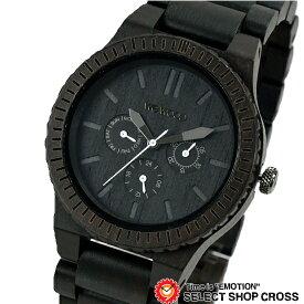 WEWOOD ウィーウッド 正規品 KAPPA BLACK カッパ ブラック NATURAL WOOD ナチュラルウッド ハンドメイド 木製腕時計 9818029 【あす楽】