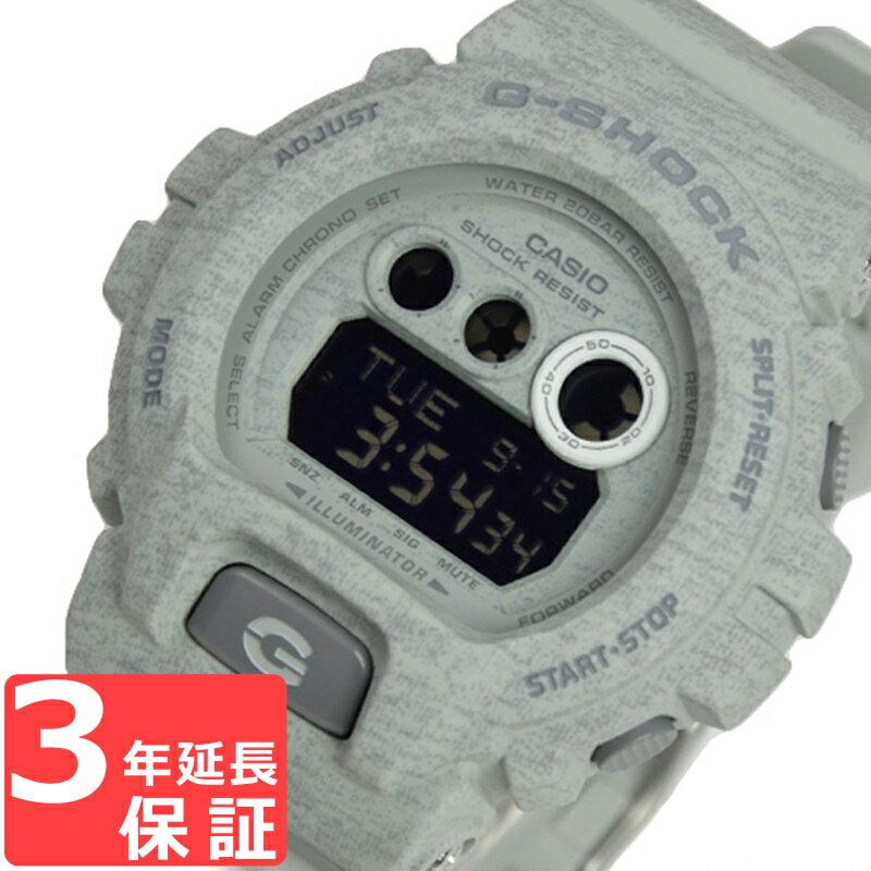 即納 G-SHOCK CASIO カシオ Gショック メンズ 腕時計 Heathered Color Series ビッグケース デジタル GD-X6900HT-8DR グレー 海外モデル【着後レビューを書いて1000円OFFクーポンGET】 【あす楽】