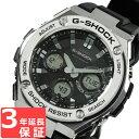 G-SHOCK CASIO カシオ Gショック メンズ 腕時計 電波ソーラー G-STEEL Gスチール アナデジ GST-W110-1ADR ブラック×シルバー 海外モデル【着後レビューを書いて10