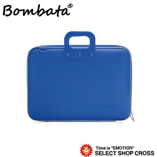 ボンバータ PCバッグ ノートパソコン用ブリーフケース Maxi Bombata マキシ 17インチ・B4ファイル対応 PVCレザー E00651-18 ブルー【着後レビューを書いて1000円OFFクーポンGET】