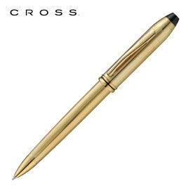 【正規販売店】 CROSS クロス 筆記用具 ボールペン タウンゼント 10金張 702TW 正規品 名入れ