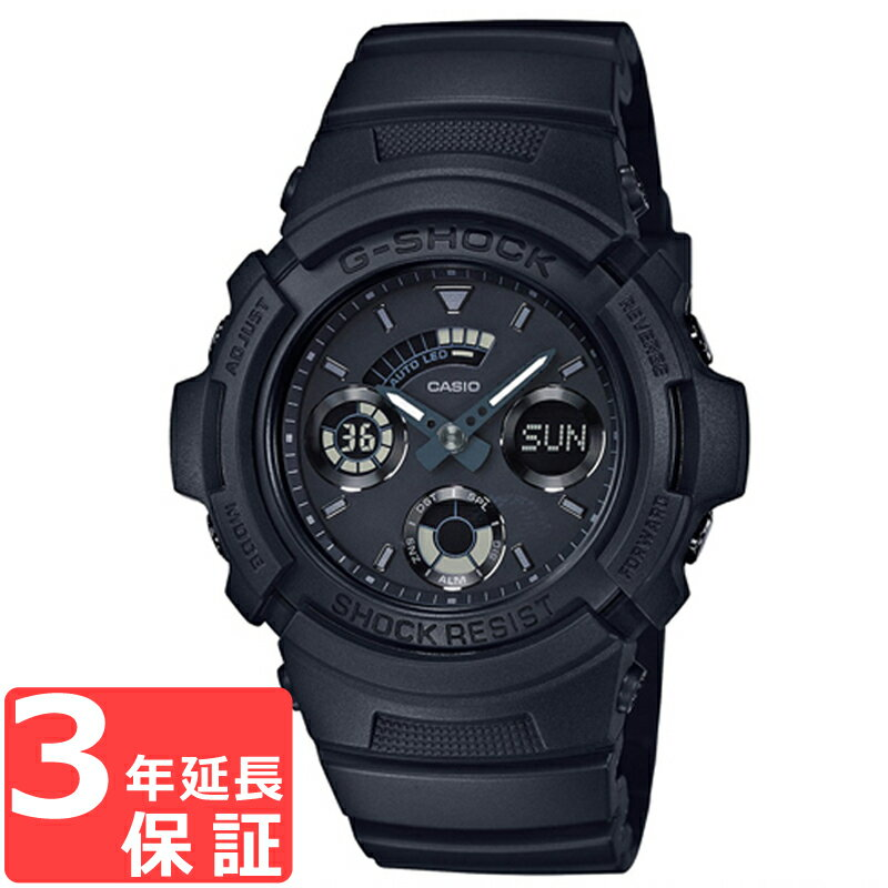G-SHOCK CASIO カシオ Gショック メンズ 腕時計 アナデジ AW-591BB-1AJF ブラック 国内モデル【着後レビューを書いて1000円OFFクーポンGET】