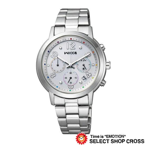 CITIZEN シチズン wicca ウィッカ ソーラー エコドライブ クロノグラフ 腕時計 メンズ KF5-012-11