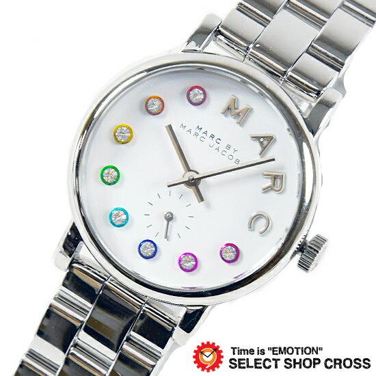 MARC BY MARC JACOBS マークバイマークジェイコブス 腕時計 Baker ベイカー ホワイト/シルバー MBM3423 【着後レビューを書いて1000円OFFクーポンGET】