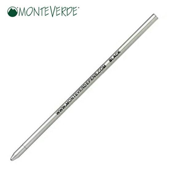 モンテベルデ MONTEVERDE 筆記用具 ショートボールペン芯 ブラック 1919038 正規品 ゆうパケット対応