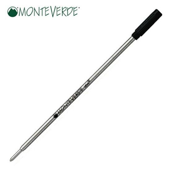 モンテベルデ MONTEVERDE 筆記用具 ボールペン替芯 スタイラス用1本入り ブラック 1919193 正規品 ゆうパケット対応