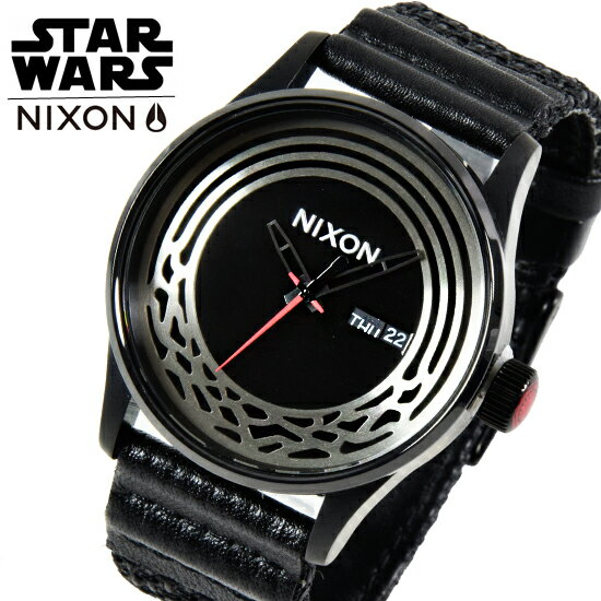 NIXON ニクソン 腕時計 スターウォーズ 限定 コラボモデル 【NIXON×STAR WARS】 The Sentry Wopven SW A1067SW2444-00 【あす楽】