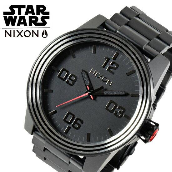 NIXON ニクソン 腕時計 スターウォーズ 限定 コラボモデル【NIXON×STAR WARS】The Corporal SS SW A346SW2444-00【着後レビューを書いて1000円OFFクーポンGET】 【あす楽】