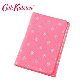 キャスキッドソン パスケース/カードケース Ticket Holder チケットホルダー Little Spot Neon Pink ネオンピンクドット 482851