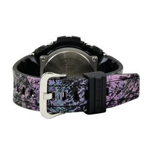 CASIOカシオG-SHOCKGスチールクオーツメンズ腕時計GST-200CP-2ADRブルー×ブラック