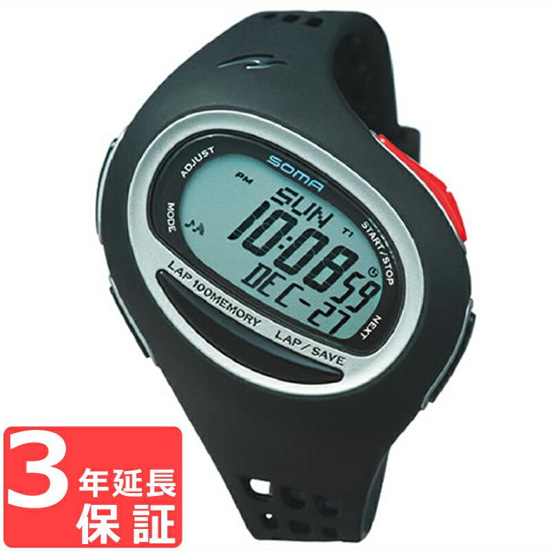 SOMA ソーマ RunONE 100SL ランワン 100SL クオーツ メンズ 腕時計 NS08004