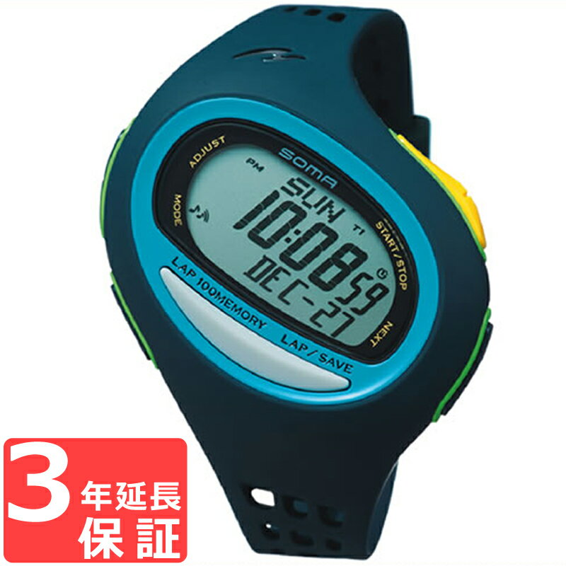 SOMA ソーマ RunONE 100SL ランワン 100SL クオーツ メンズ 腕時計 NS08005
