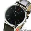 PAUL SMITH ポールスミス メンズ 腕時計 MA エムエー レザーベルト ブラック/ダークブラウン P10052 deal