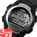 【名入れ対応】 【3年保証】 カシオ 腕時計 CASIO ベーシック デジタル 液晶 クオーツ メンズ レディース ユニセックス 時計 ブランド サッカー 審判 試合時間計測用ストップウォッチ W-756-1A ブラック カシオ 腕時計