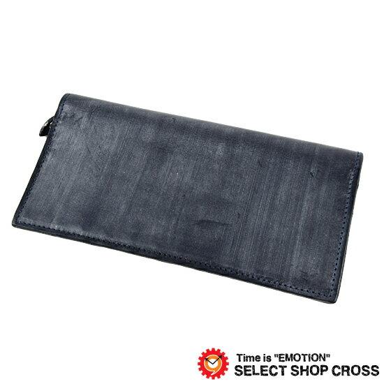 GLENROYAL グレンロイヤル 長財布/ロングウォレット PURSE WITH ZIP POCKET ブライドルレザー 03-5605 DARK BLUE ネイビー