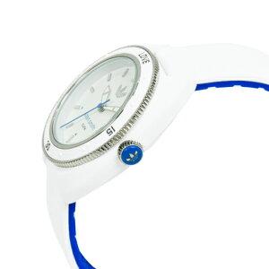 adidasアディダスSTANSMITHスタンスミスデジタル腕時計ユニセックスホワイトブルーADH3123
